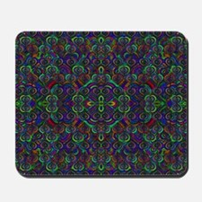 Sweet psychedelic hearts Mousepad