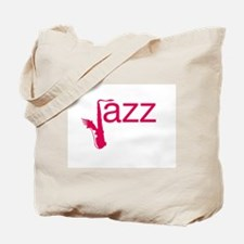 Red Jazz Tote Bag