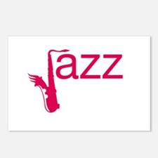 Red Jazz Postcards (Package of 8)