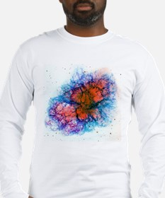 Supernova Crab Nebula Long Sleeve T-Shirt