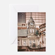 Central Station From ANZAC Square Greeting Card