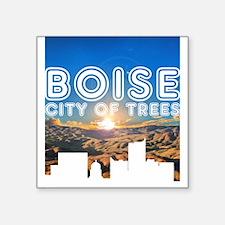 City of Trees Sunrise Sticker