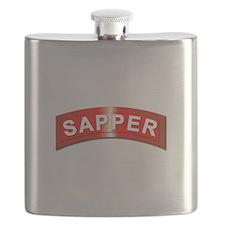 Sapper Tab - Metal Flask