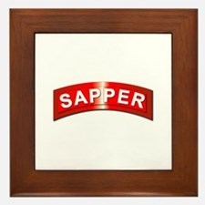 Sapper Tab - Metal Framed Tile