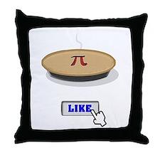 I Like Pi(e) Throw Pillow