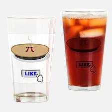 I Like Pi(e) Drinking Glass