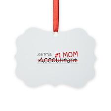 Job Mom Accountant Ornament