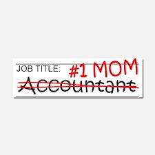 Job Mom Accountant Car Magnet 10 x 3