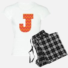 J Monogram Chevron Pajamas