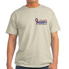 Pulmonary Fibrosis Awareness 2 T-Shirt