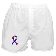 Pulmonary Fibrosis Ribbon 3 Boxer Shorts