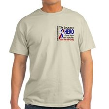 Pulmonary Fibrosis Bravest Hero I Kn T-Shirt
