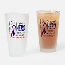 Pulmonary Fibrosis Bravest Hero I K Drinking Glass
