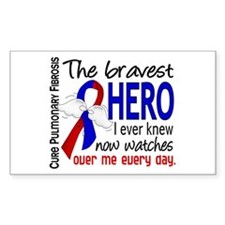 Pulmonary Fibrosis Bravest Her Decal