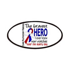 Pulmonary Fibrosis Bravest Hero I Knew Patches