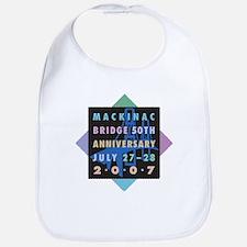 Mackinac 50th Anniversary Bib