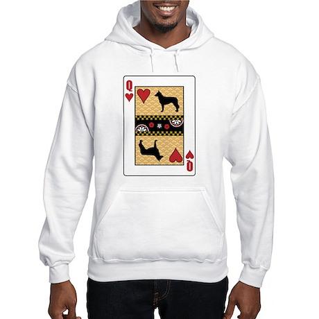 Queen Malinois Hooded Sweatshirt