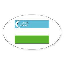 Flag of Uzbekistan - NO Text Decal