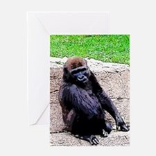Little Kong Greeting Cards