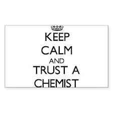 Keep Calm and Trust a Chemist Decal