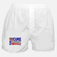 Pulmonary Fibrosis Find the Cure Boxer Shorts