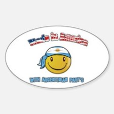 Made in America with Argentin Oval Decal