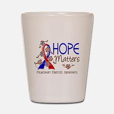 Pulmonary Fibrosis Hope Matters 3 Shot Glass