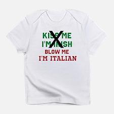 Kiss me Irish Italian Infant T-Shirt