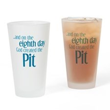 Pit Creation Drinking Glass