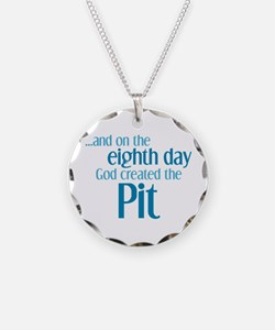 Pit Creation Necklace Circle Charm