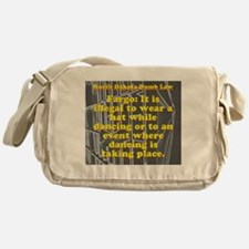 North Dakota Dumb Law #3 Messenger Bag