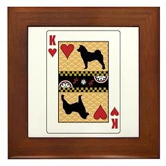 King Foo Dog Framed Tile
