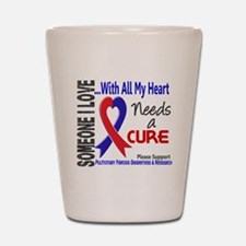 Pulmonary Fibrosis Needs a Cure 3 Shot Glass