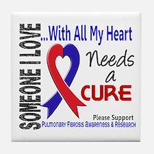 Pulmonary Fibrosis Needs a Cure 3 Tile Coaster
