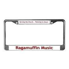 Funny Ragamuffin License Plate Frame