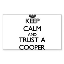 Keep Calm and Trust a Cooper Decal