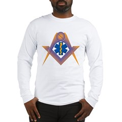 The Masonic Star of Life Long Sleeve T-Shirt