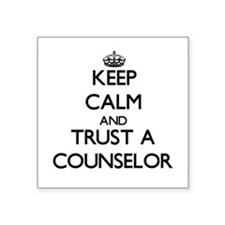 Keep Calm and Trust a Counselor Sticker