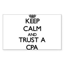 Keep Calm and Trust a Cpa Decal