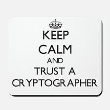 Keep Calm and Trust a Cryptographer Mousepad
