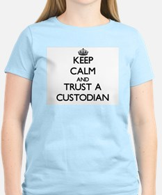 Keep Calm and Trust a Custodian T-Shirt