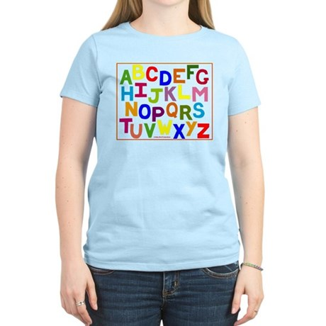 Alphabet on Clothing