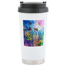 Butterfly Garden Travel Mug