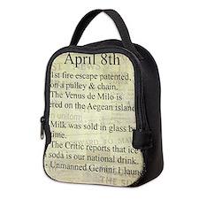 April 8th Neoprene Lunch Bag