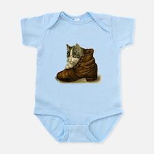 Cute Kitten in a Boot Body Suit