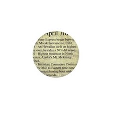 April 3rd Mini Button