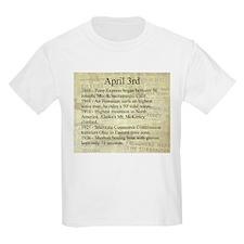 April 3rd T-Shirt