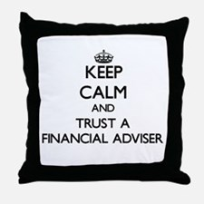 Keep Calm and Trust a Financial Adviser Throw Pill