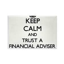 Keep Calm and Trust a Financial Adviser Magnets