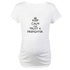 Keep Calm and Trust a Firefighter Shirt